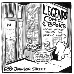 Welcome to Legends Comics and Books
